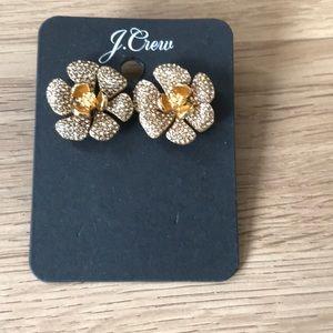 J crew Gold earrings